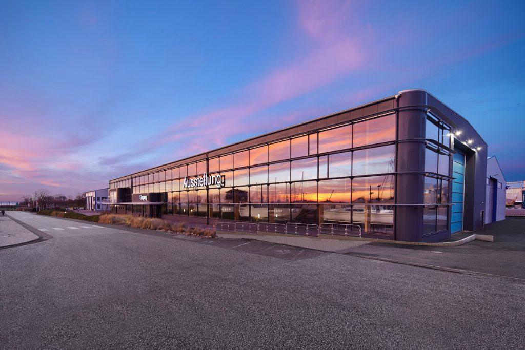 Architekturfotografie Glasfassade