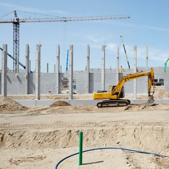 Architekturfotografie Bau